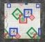 Электропростынь полуторная Lux Electric Blanket Green Flowers 155x120 см 0