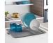 Сушилка для посуды с ковриком Metaltex Dry-Tex Polytherm 320580 45х40х7 см. 7
