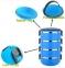 Пищевой термос HLV Lunch Box  C-128 4 уровня по 750 мл Blue 0