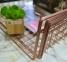 Полиця підвісна Metaltex Copper 363140 40х26х14 см. 4