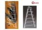 Тримач для кришок навісний з пластиковим покриттям Metaltex Kiwi 362806 23x7x42 см. 3