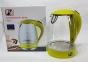 Електрочайник скляний Promotec PM-810 2200W 1.7 л Green 12