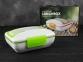 Ланч Бокс з підігрівом від мережі 220В Electric Lunch Box з металевою знімною чашею Green 1