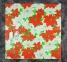 Электропростынь односпальная Lux Electric Blanket Red Flowers 155x75 см 0