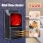 Портативный обогреватель с имитацией камина Flame Heater 6730 900W с пультом 22