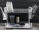 Сушарка для посуду настільна Edenberg EB-2108М 55.8х24.4х33.8 см White 0