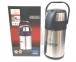 Термос вакуумный с помпой Crownberg CB-3L 3 л Steel 6