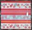 Электропростынь полуторная Lux Electric Blanket Pink/Gray Flowers 155x120 см 0