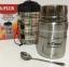 Харчовий термос в чохлі з ложкою A-Plus 1771 750 мл Steel 1