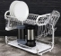 Сушарка для посуду настільна Edenberg EB-2108М 55.8х24.4х33.8 см White 1
