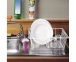 Сушилка для посуды с пластиковым покрытием Metaltex Piccolo 321140 36х33х12 см. 3