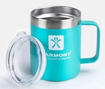 Термокружка Harmony Travel 350 мл Turquoise