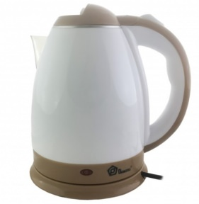 Електрочайник Domotec MS-5025С 1500W 2 л White/Brown