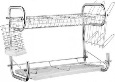 Сушарка для посуду настільна Edenberg EB-2108 55.8х24.4х33.8 см