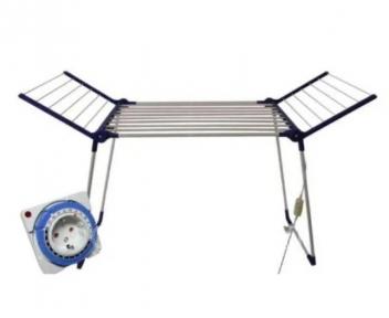Електрична сушарка для білизни підлогова розкладна Shine ЕБК- 8/220 з таймером