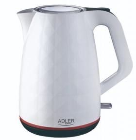 Электрочайник Adler AD 1277 2200W 1.7 л White