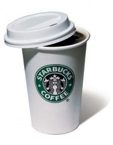 Термокружка керамическая Starbucks Eco Cup 300 мл