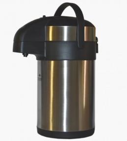 Термос вакуумный с помпой Stenson МT-0096 4 л Steel
