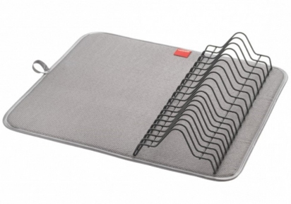 Сушарка для посуду з килимком Metaltex Dry-Tex Lava Touch-Therm 321680 45х40х7 см.