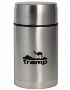 Пищевой термос с контейнером Tramp TRC-079 1 л Steel