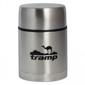 Пищевой термос с контейнером Tramp TRC-078 0.7 л Steel