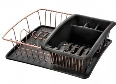 Сушарка для посуду Metaltex Copper Polytherm 325826 35х30х12 см.