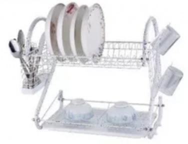 Сушарка для посуду настільна Edenberg EB-2109М 55.8х24.4х33.8 см White