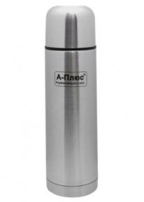 Термос вакуумный с чехлом A-Plus 1752 350 мл Steel