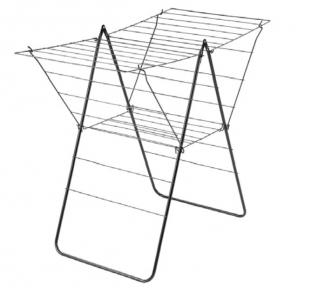 Сушарка для білизни підлогова розкладна Metaltex Utrecht Epotherm 407022 001 58x113x98 см.