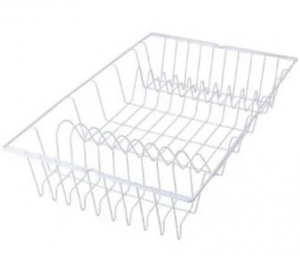 Сушарка для посуду з пластиковим покриттям Metaltex Germatex 320145 48х30х10 см.