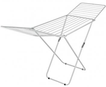 Сушарка для білизни підлогова розкладна з епоксидним покриттям Metaltex Capri 407500 206x55x105 см.