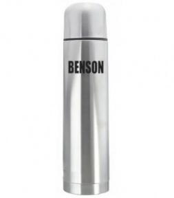 Термос вакуумный с чехлом Benson BN-053 1 л Steel