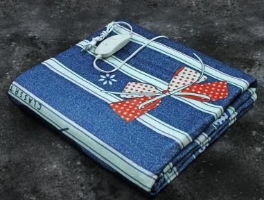 Электропростынь полуторная Lux Electric Blanket Classrtignaut 155x120 см
