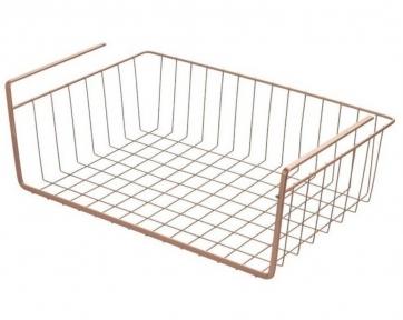 Полиця підвісна Metaltex Copper 363140 40х26х14 см.