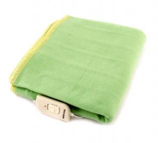 Электропростынь полуторная NEW KET Classic Green 155x120 см.