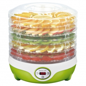 Сушилка для овощей и фруктов Sencor SFD 851GR 240W Green