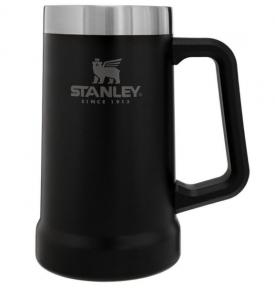 Термокружка Stanley Adventure Stein 700 мл Matte Black