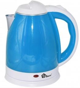 Електрочайник Domotec MS-5024 1500W 2 л Blue/White