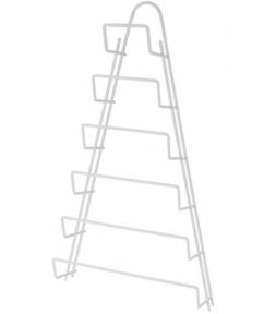 Тримач для кришок навісний з пластиковим покриттям Metaltex Kiwi 362806 23x7x42 см.