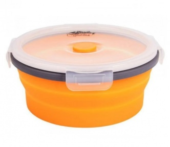 Ланч бокс Tramp TRC-088 16.5х3 см Orange