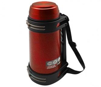 Термос с ручкой Stenson 1842-4 Shiny 2 л Red