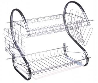 Сушилка для посуды настольная A-Plus 1154 38х41х27 см