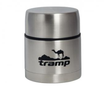 Харчовий термос з контейнером Tramp TRC-077 0.5 л Steel