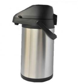 Термос вакуумный с помпой Stenson МT-0935 3 л Steel