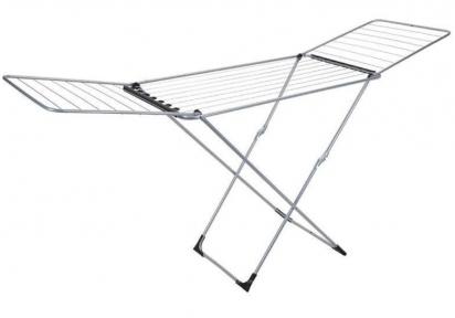 Сушарка для білизни підлогова розкладна Metaltex Fuji 407508 205x55x103 см.