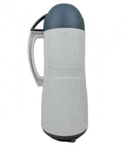 Термос із скляною колбою Stenson DB105SX-L 0.5 л White/Green