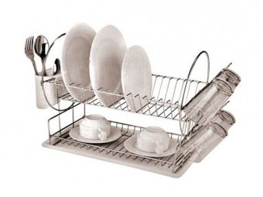 Сушилка для посуды настольная Stenson MH-0534 Compass 42х23х33 см