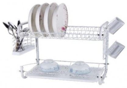 Сушарка для посуду настільна Edenberg EB-2108М 55.8х24.4х33.8 см White