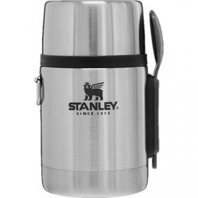 Харчовий термос  з ложкою Stanley Adventure 530 мл Stainless Steel