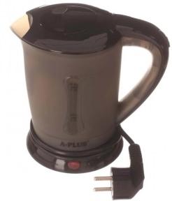 Електрочайник дорожній з чашками A-Plus EK-1530 600W 0.5 л Black